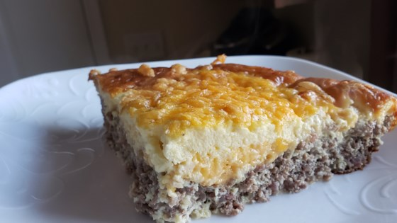 Photo of Crustless Cheeseburger Quiche by Yumbolt