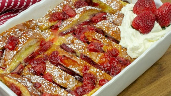 Baked Strawberry French Toast Recipe