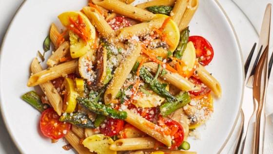 Healthy Pasta Primavera Recipe