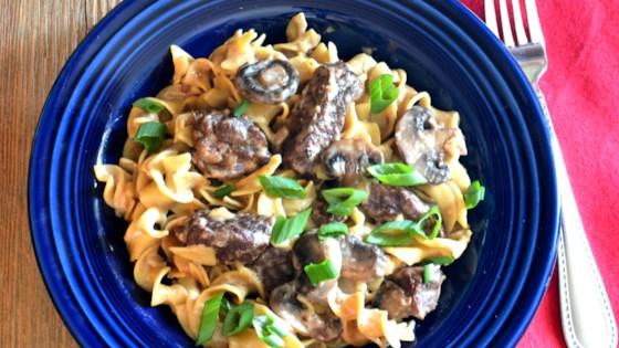Beef Stroganoff for Instant Pot® Recipe