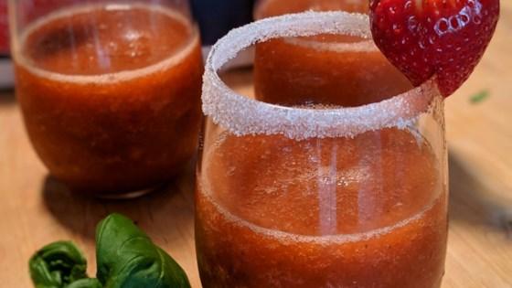 Photo of Strawberry Basil Margarita by Muffinmom