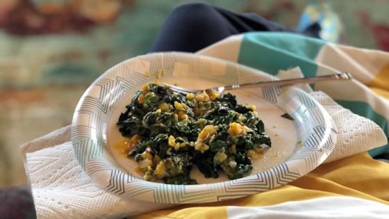 Photo of Eggs and Greens Breakfast Dish by Dorinda Medley