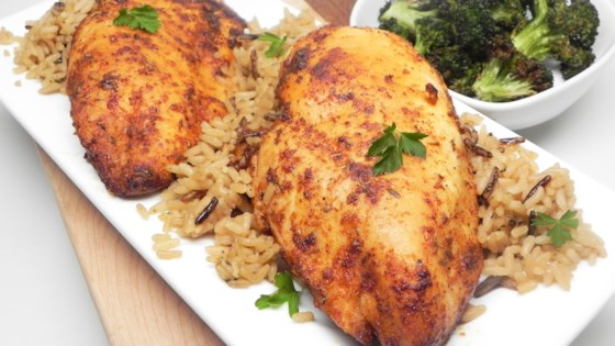 Photo of Air Fryer Blackened Chicken Breast by Soup Loving Nicole