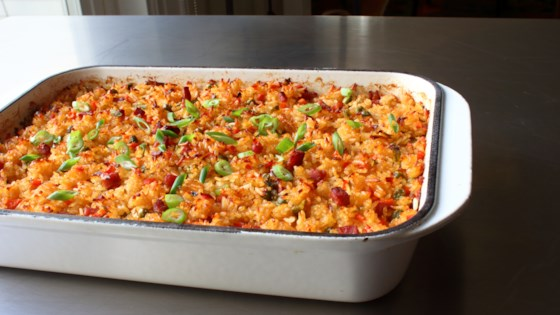 """Photo of Baked """"Fried"""" Rice by Chef John"""