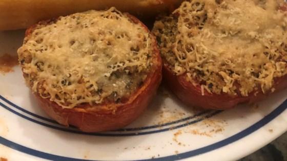 Photo of Pomodori Ripieni (Stuffed Tomatoes) by Brian Genest
