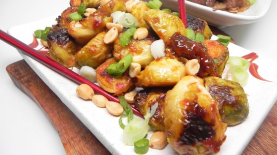 Photo of Kung Pao Brussels Sprouts by Soup Loving Nicole