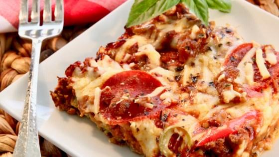 Photo of Zucchini Pizza Bake by Christina
