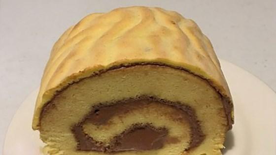 Photo of Tiger Skin Chiffon Cake Roll by Min