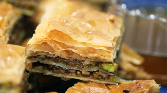 Photo of Pistachio-Walnut Baklava by Smart Cookie