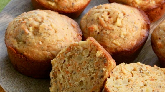 Photo of Apple, Carrot, and Chia Muffins by hello angie