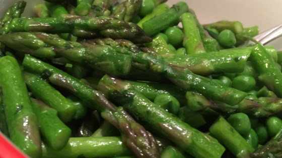 Photo of Green Peas and Asparagus  by HootOwl