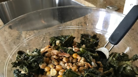 Photo of Roasted Kale and Chickpea Salad by Rachel Schlarman