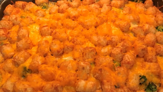 Photo of Amy's Tater Tot Casserole by cheery_com