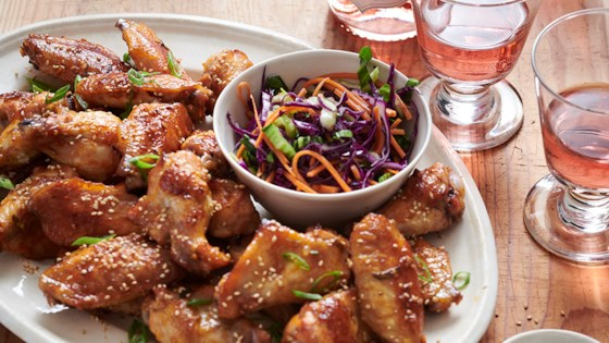 Photo of Sweet and Garlicky Korean Chicken Wings by Chateau Ste Michelle