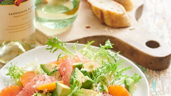 Avocado Citrus Frisee Salad