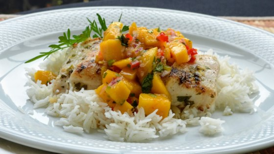 Photo of Grilled Tilapia with Mango Salsa by Naomi Witzke