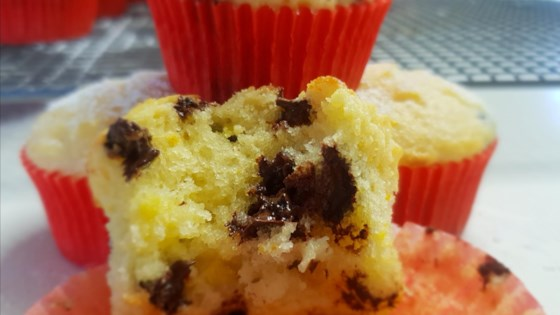 Photo of Orange Chocolate Chip Muffins by shazzieau