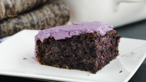 Photo of Purple Carrot Cake by Buckwheat Queen