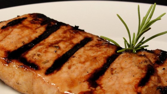 Photo of Andrew's Favorite Grilled Pork Chops by Crystal S