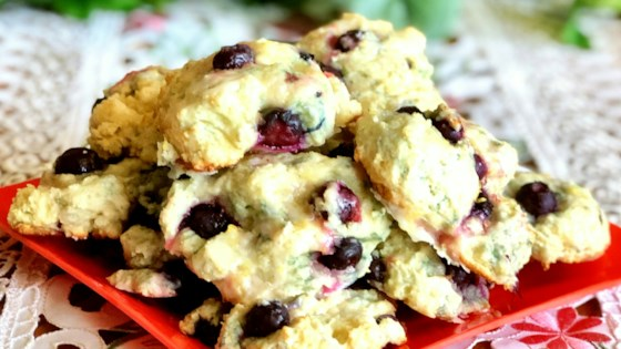 Photo of Lemon Drop Blueberry Scones by Sabrina