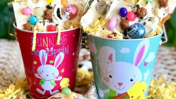 Photo of White Chocolate Easter Bunny Bark by Yoly