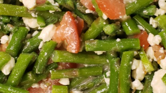 Photo of Fresh Asparagus, Tomato, and Feta Salad by Locally Grown