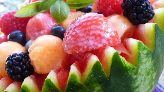 Photo of Strawberry-Melon Summer Salad by Drizzler