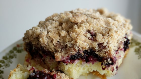 Photo of Mulberry Kuchen (Cake) by Kathryn A