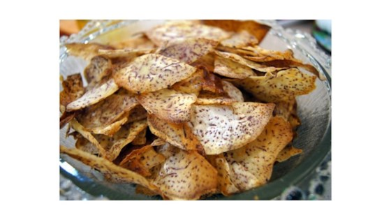 Photo of Baked Taro Chips by Chris Denzer