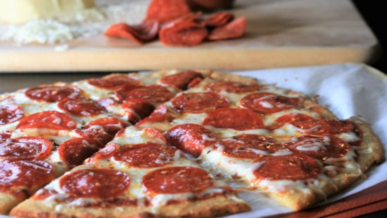 Photo of Keto Pepperoni Pizza with Fathead Crust by France C