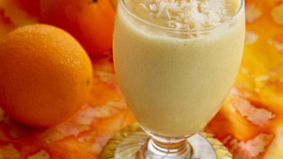 Photo of Creamy Orange-Coconut Smoothie by lutzflcat
