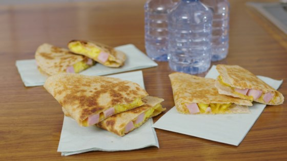 Photo of Ham, Egg, and Cheese Quesadillas by Smithfield