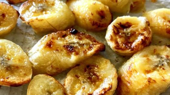 Air Fryer Roasted Bananas Recipe