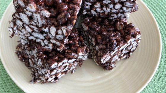 Photo of Puffed Wheat Squares by The Schmidts
