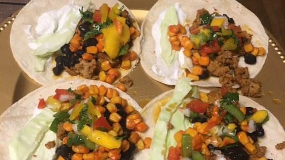 Photo of Street Taco with Mango Salsa by Kori