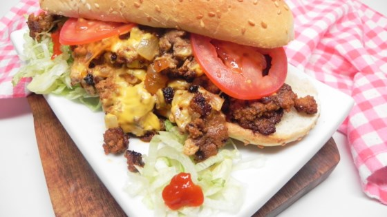 Photo of Spicy Chopped Cheese Sandwich by Soup Loving Nicole