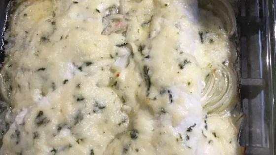 Photo of Cheesy Baked Fish by mama3