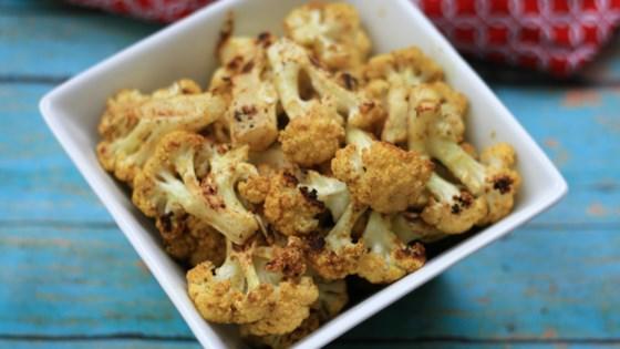 Vegan Roasted Curry Cauliflower Recipe