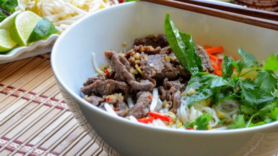 Photo of Vietnamese Lemongrass Beef and Noodles by MommyFromSeattle