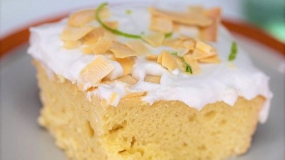 Coconut Tres Leches Cake Recipe