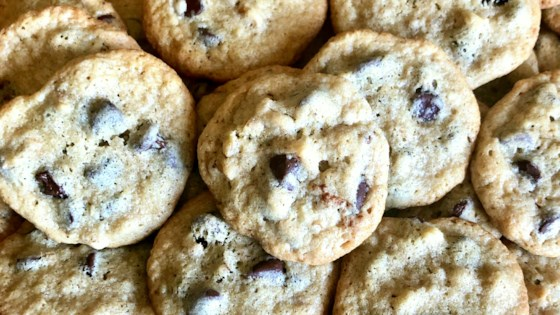 Photo of Tahini-Chocolate Chip Cookies  by Yoly