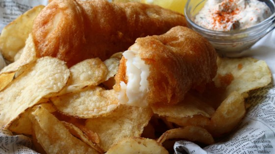 Photo of Crispy Beer Batter Fish & Chips by Chef John