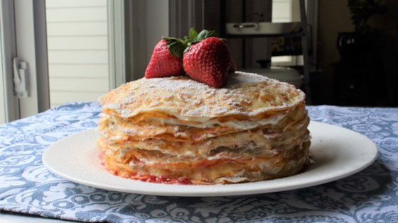 Chef John's Strawberry Crepe Cake Recipe
