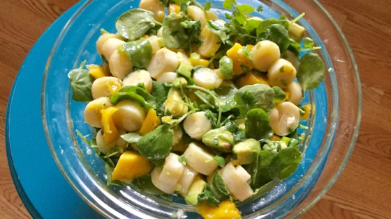 Photo of Tropical Hearts of Palm Salad with Mango and Avocado by stephanie boyer