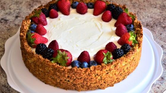 Photo of Breakfast Cheesecake with Granola Crust by Kim