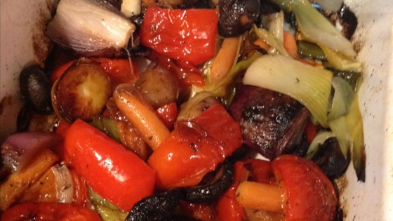 Photo of Vegan Oven-Roasted Vegetables by Barbara Fischer