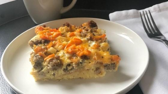 Photo of English Muffin-Sausage Breakfast Casserole by Beanie VanBuskirk