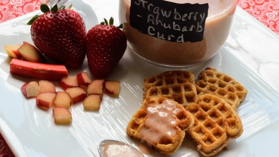 Photo of Strawberry Rhubarb Curd by Kim's Cooking Now