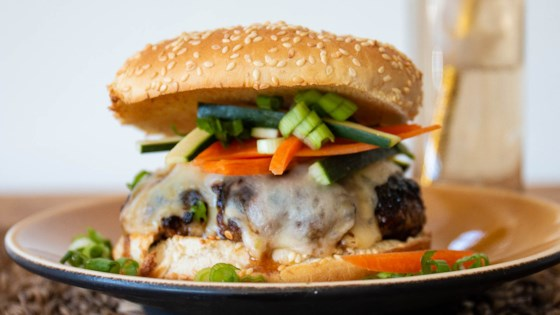 Photo of Asian Barbecue Burgers by Occasional Cooker