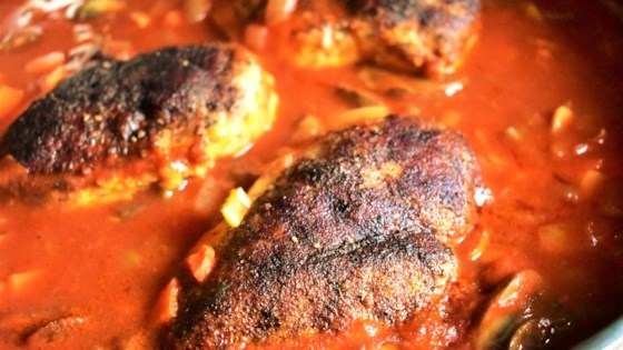 Photo of Baked Chicken Breasts in Cinnamon-Tomato Sauce by Kim
